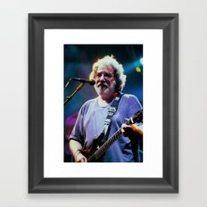 Jerry Garcia  Framed Art Print