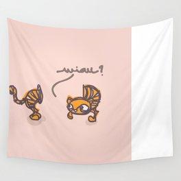 miau? Wall Tapestry