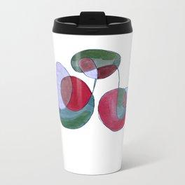 G rojizos y verdes Travel Mug