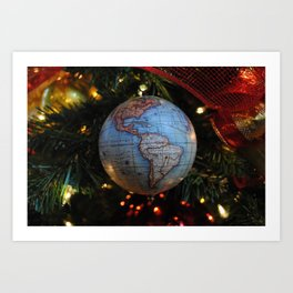 The Gift of the World Art Print