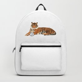 Volleyball Tiger Backpack