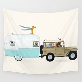 camping trip Wall Tapestry