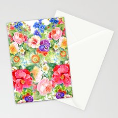 Love & Flowers Stationery Cards