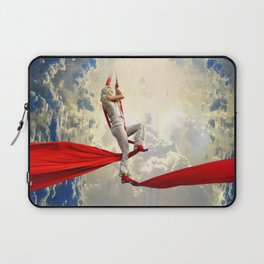 Light Climbs Into the Clouds Laptop Sleeve