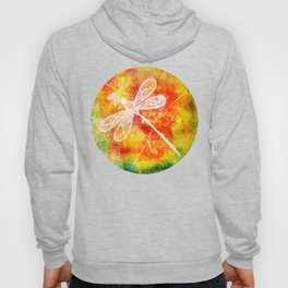 Dragonfly in embroidered beauty Hoody