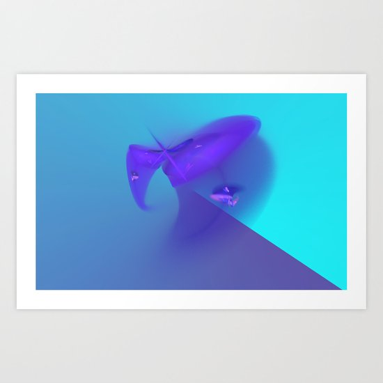 The Wave Art Print