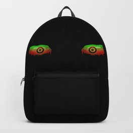 Creepy eyes Backpack