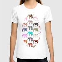 preppy T-shirts featuring Floral Herd by Girly Trend