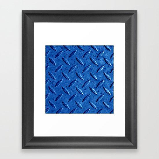 blue steel II Framed Art Print