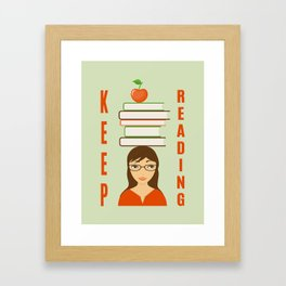 keep reading Framed Art Print