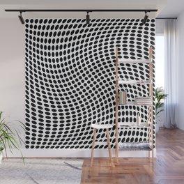 op art - dot twist Wall Mural
