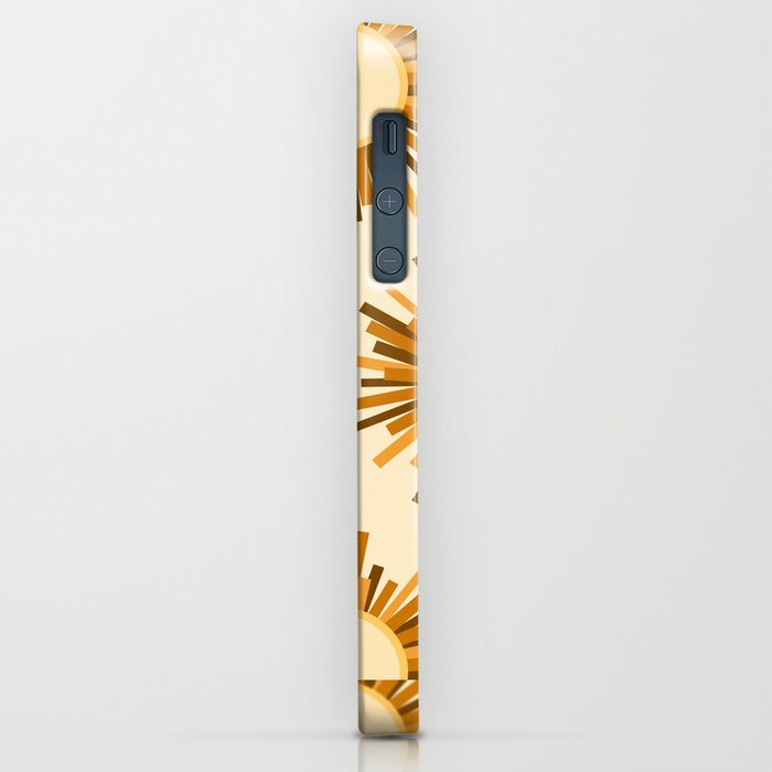 Art Deco Starburst iPhone Case