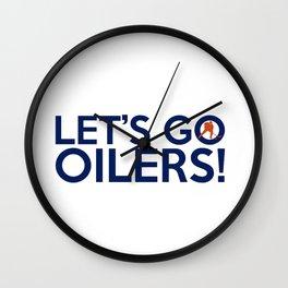 Edmonton Oilerss Quotes Wall Clock