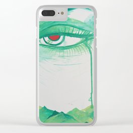 Mother Mountain Weeps Clear iPhone Case
