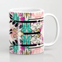 austin Mugs featuring Austin by Pattern State