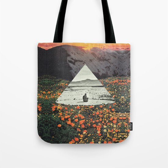 Harmony with flowers Tote Bag
