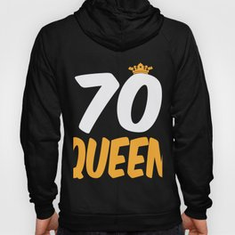70. Birthday Present 70 Years Old Funny Gift Hoody