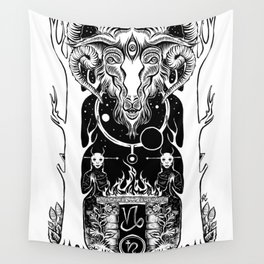 Ritual of Capricorn Wall Tapestry
