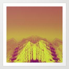dtla apartments 3 Art Print