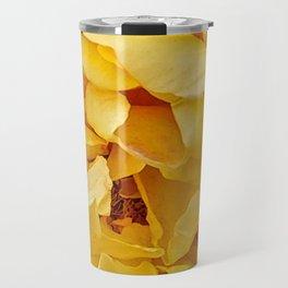 Yellow Petals Travel Mug
