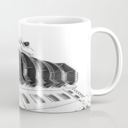 Warehouse District Architecture Hamburg Coffee Mug