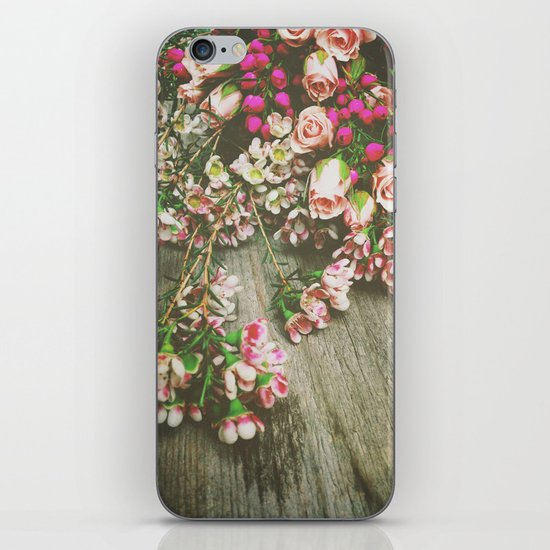 She Had a Spirit That Was Wild and Free iPhone & iPod Skin