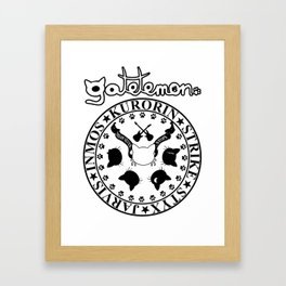 Gatetemon T shirt Framed Art Print