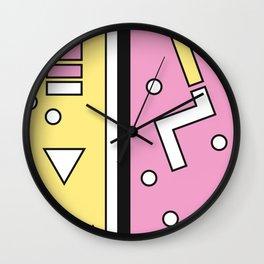Geometric Calendar - Day 13 Wall Clock