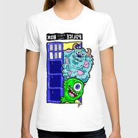 monsters inc T-shirts featuring Monsters in Time and Space! Doctor Who Meets Monsters Inc. University by beetoons