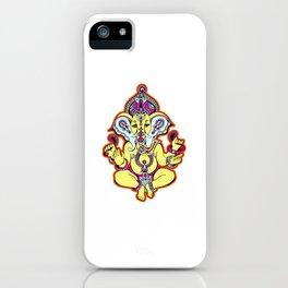 Ganesh Chaturthi India Religion iPhone Case