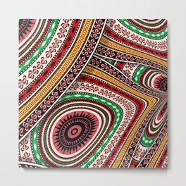 Tribal adventure Metal Print