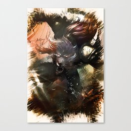 League of Legends WARWICK Canvas Print