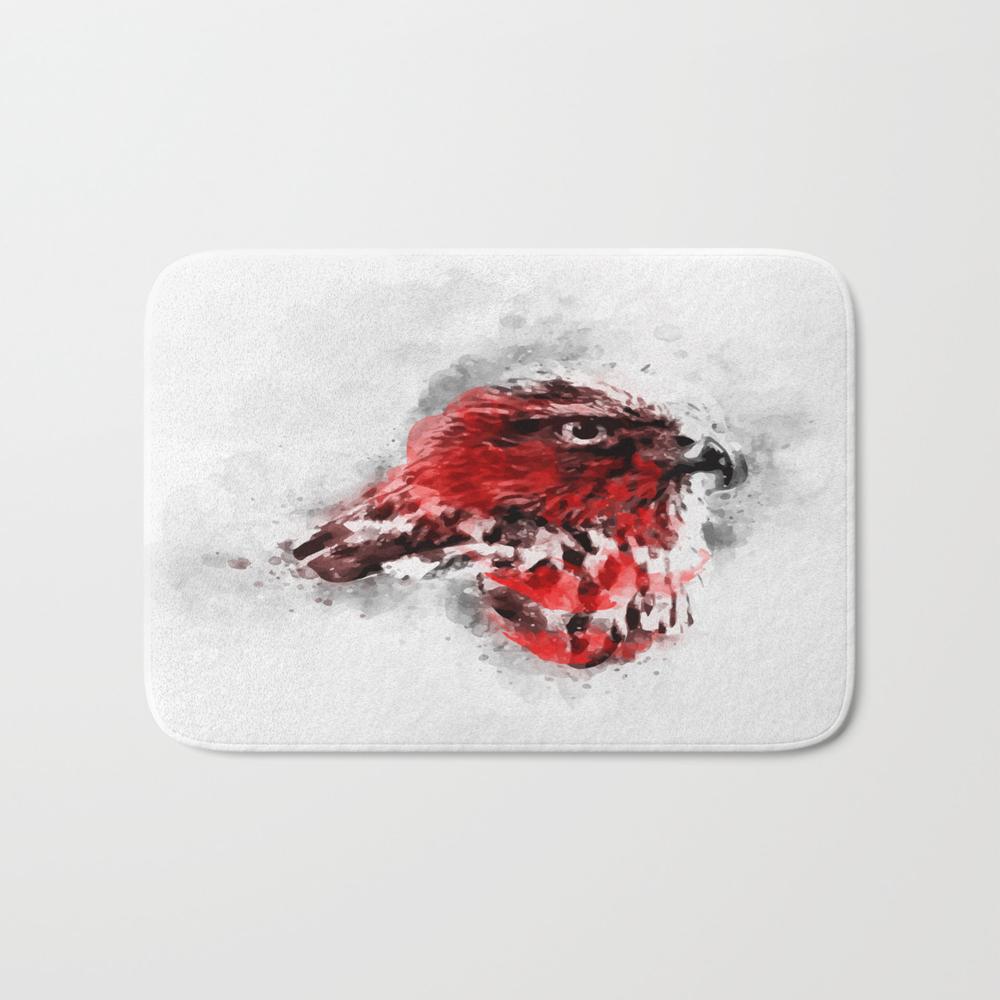 Redbreast Bath Mat by Maioriz (BMT7893034) photo