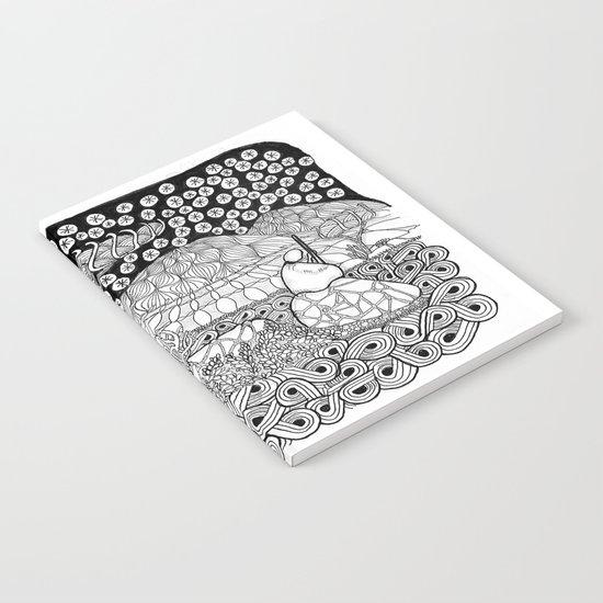 Zentangle Night Solitude Notebook