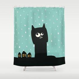 So, rain. Again! Shower Curtain