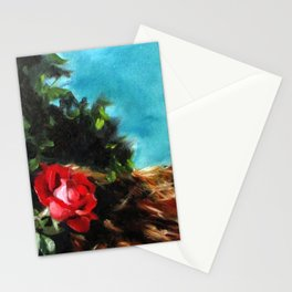 Knock Out Rose Stationery Cards