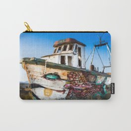 An Wooden old Ship 2 Carry-All Pouch