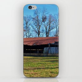 Rustic Shed iPhone Skin