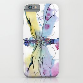 Dragonfly series: Winged Summer iPhone Case