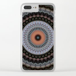 Recreational Maylanta Mandala 74 Clear iPhone Case