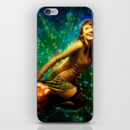 Galaxy Toot Girl | Sexy Pin Up Humor iPhone Skin