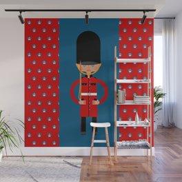 British Bearskin Cap Guard Wall Mural