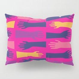 Hands of Fuschia Pillow Sham