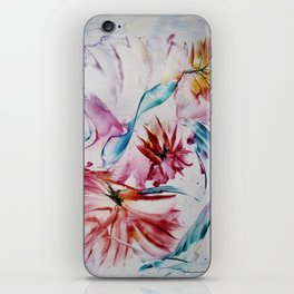 Asters iPhone Skin