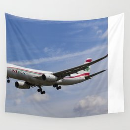 Middle Eastern Airlines Airbus A330 Wall Tapestry