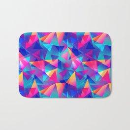 Rainbow Triangle Pattern Bath Mat