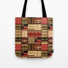 African patchwork. Tote Bag