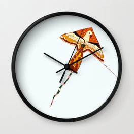 Fly free as an Eagle Wall Clock