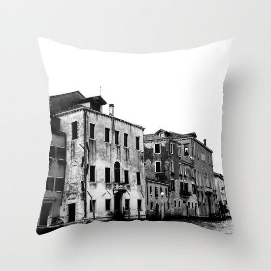 SWAMP VENICE II Throw Pillow