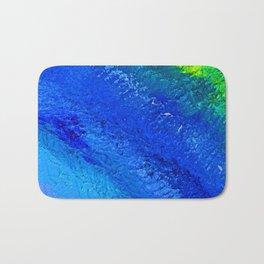 """""""Riptide #4"""" Oil Painting Bath Mat"""